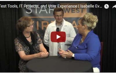 Test Tools, IT Projects, and User Experience: An Interview with Isabel Evans and Julian Harty